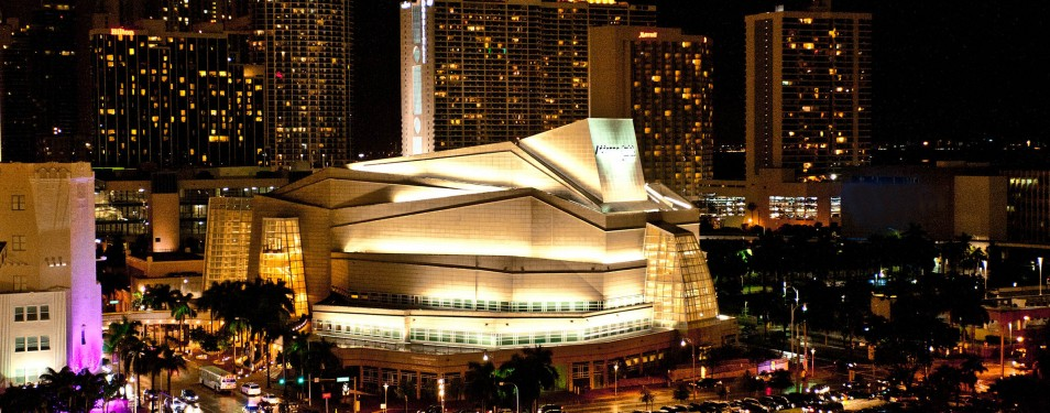 Adrienne Arsht Center for the Performing Arts...