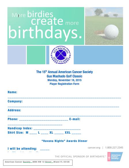 ACS Golf Participate