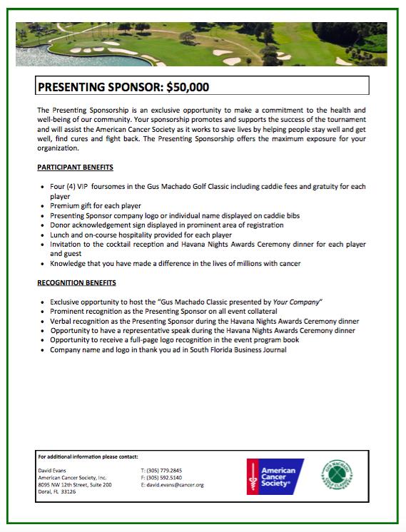 Sponsorship opportunities pg 3