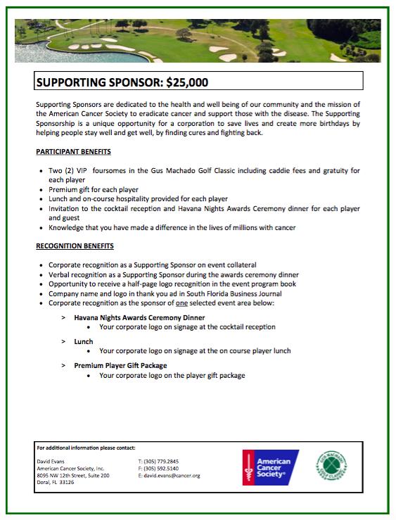 Sponsorship opportunities pg 4
