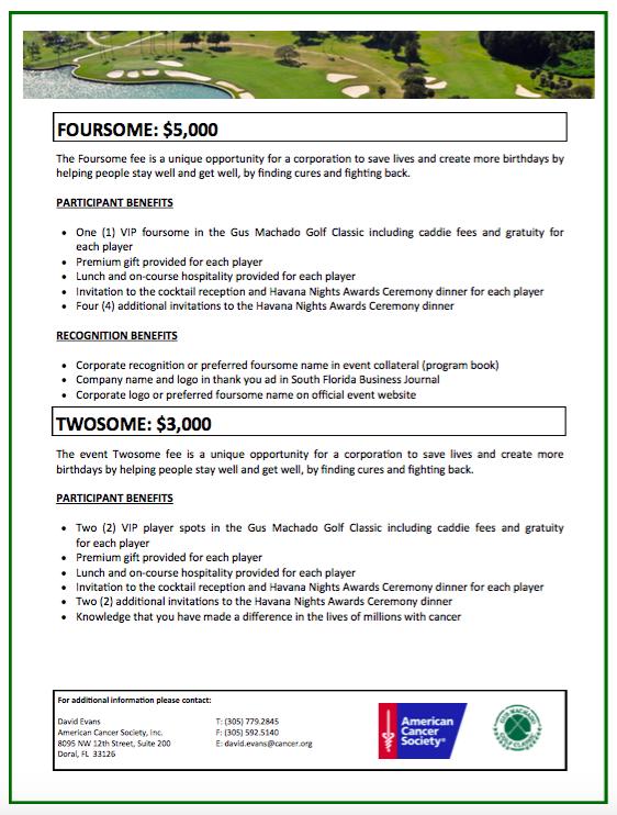Sponsorship opportunities pg 5