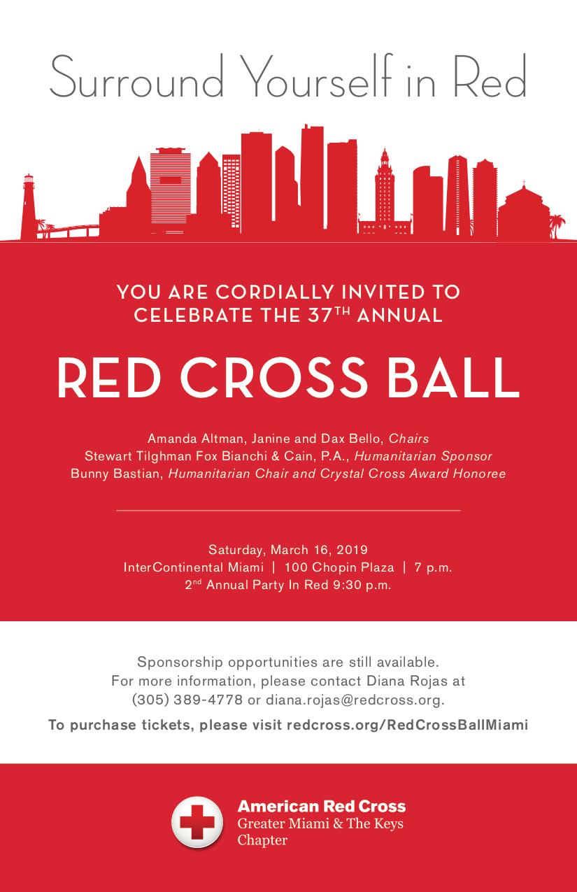 Miami Red Cross Ball 2019