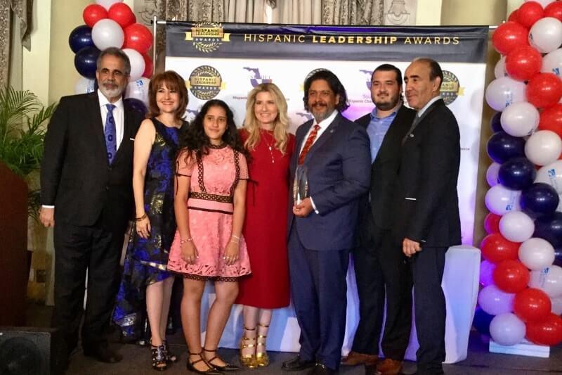 marile & jorge luis lopez, esq sflhcc hispanic leadership awards