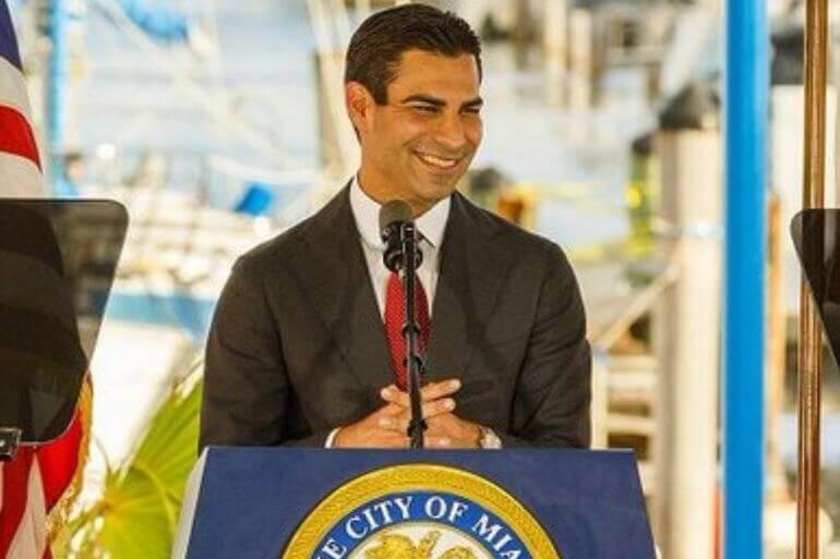 Francis Suarez Mayor City of Miami Resilience305