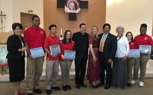 Monsignor Edward Pace High School Lopez Family Foundation
