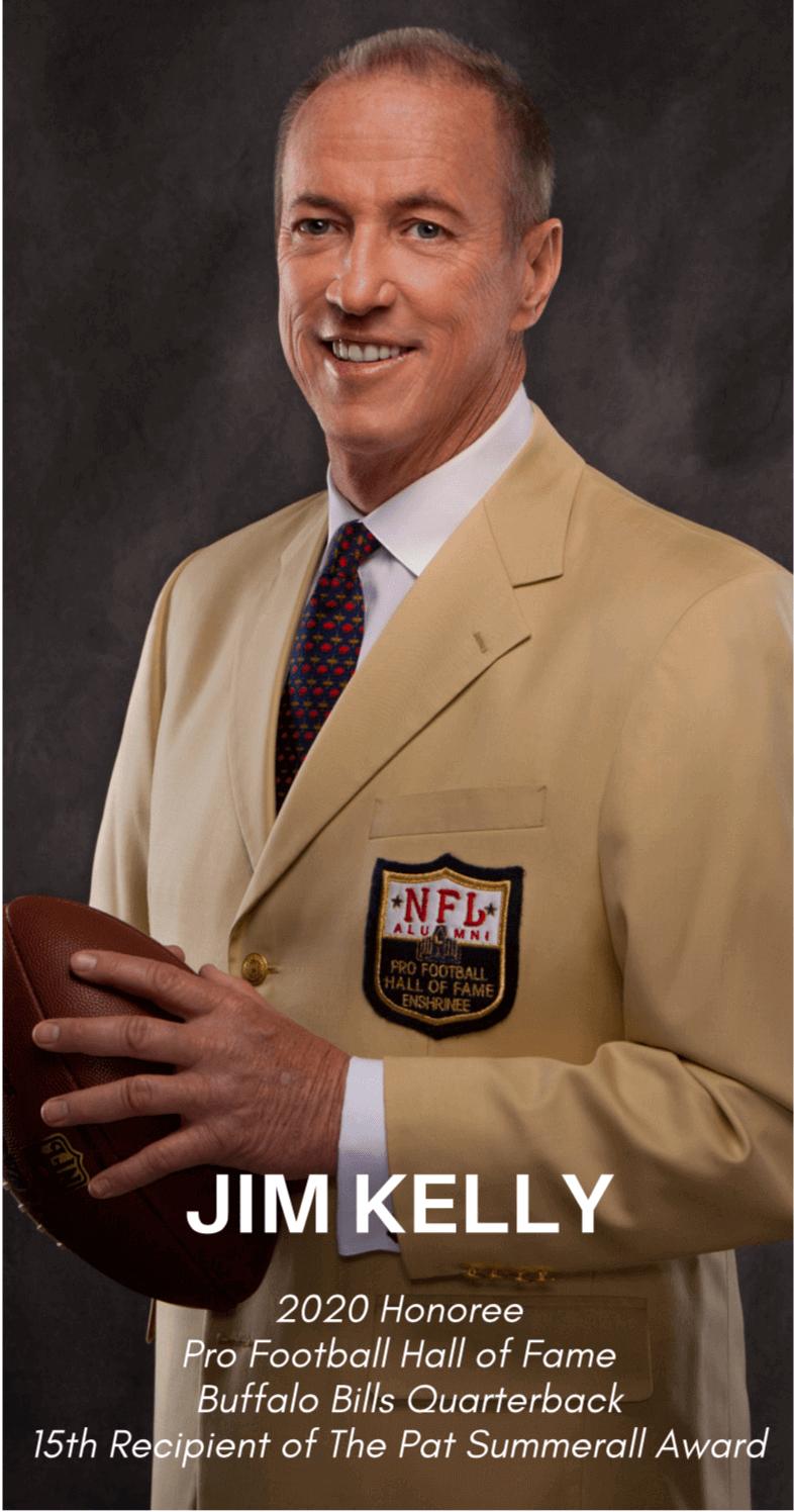 Jim Kelly Footbal Hall of Fame