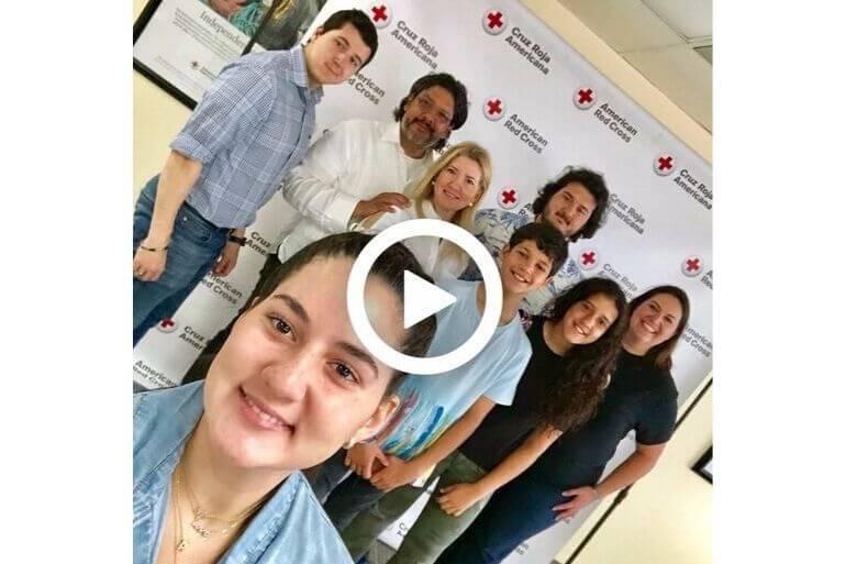 Marile & Jorge Luis Lopez, Esq. American Red Cross Hurricane Dorian