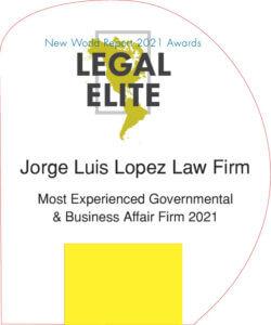 Jorge Luis Lopez Law Firm-2021 NWR Legal Elite Awards